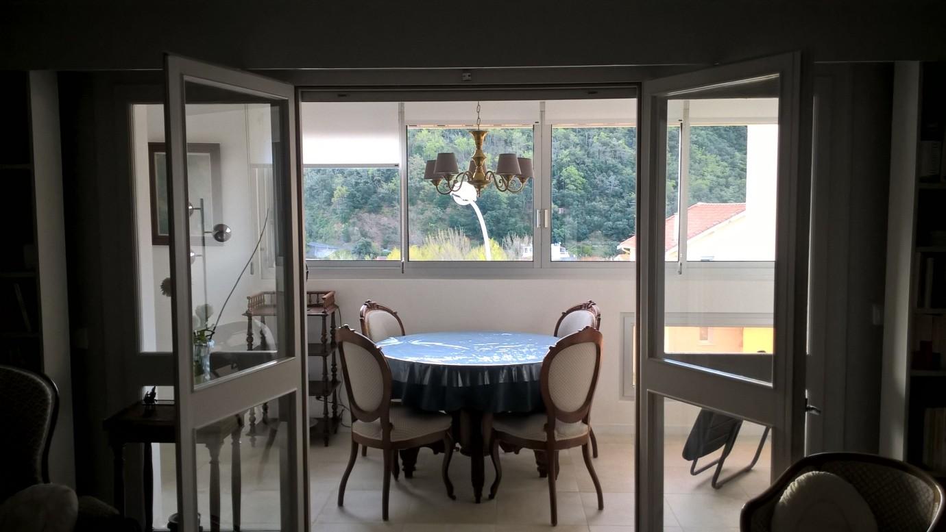 Location meublé Germont Amélie Loggia vue sur les montagnes