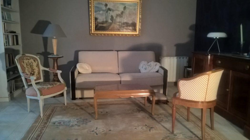 Location Germont - meublé cure Amélie les bains - Séjour